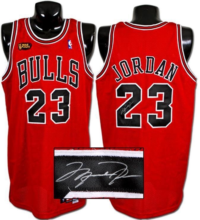 online retailer e2bd0 c9b5f 1997-98 Michael Jordan Game-Used, Signed Bulls Jersey from Last Finals  Appearance with Bulls