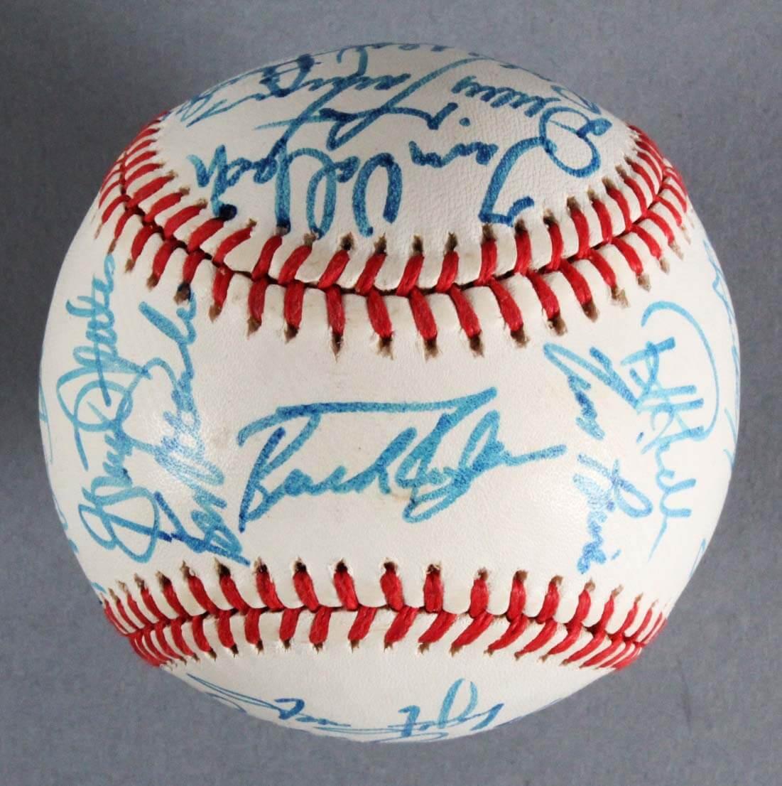 1988 Montreal Expos Team-Signed Baseball