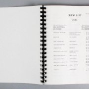 1991 Michael Jackson Black or White Music Video Production Schedule Script Lot of (2) Incl. Storyboard
