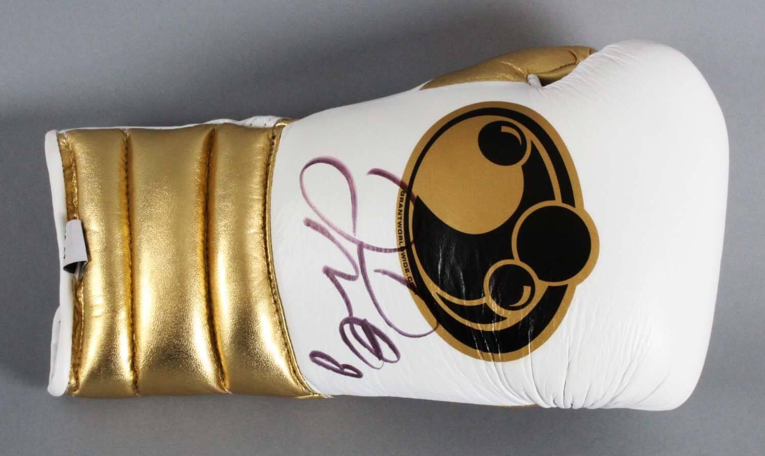 Floyd Mayweather Jr. Signed Boxing Glove - JSA Full LOA