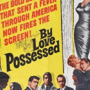 BY LOVE POSSESSED Movie Poster One sheet- 1sh- 61/215 Good Condition