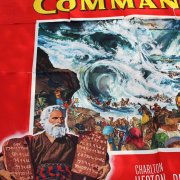 Original 1956 The Ten Commandments Movie Poster 6 sheet (81x81) 56/392