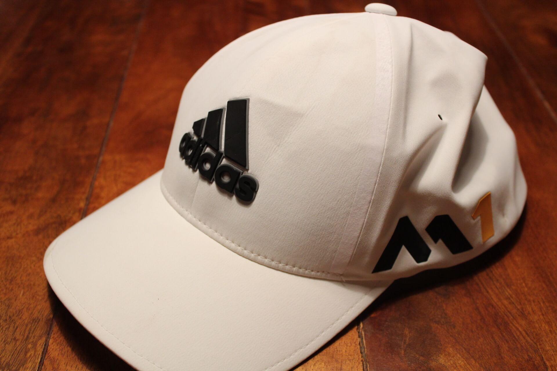 A Sergio Garcia Game-Used Adidas Golf Hat.  2016 Masters.