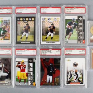 NFL Football Graded Card Lot (11) w/ 1 Auto - Aaron Rodgers (RC), Randy Moss (RC), etc.