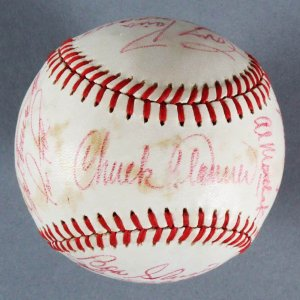 1981 Pittsburgh Pirates Team-Signed Ball (21 Sigs. Incl. Dave Parker, Willie Stargell, Tony Pena, etc.- JSA