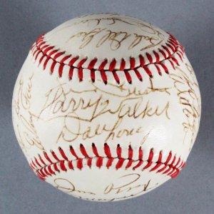 Pittsburgh Pirates Multi-Signed Baseball - Willie Stargell, etc. - COA JSA