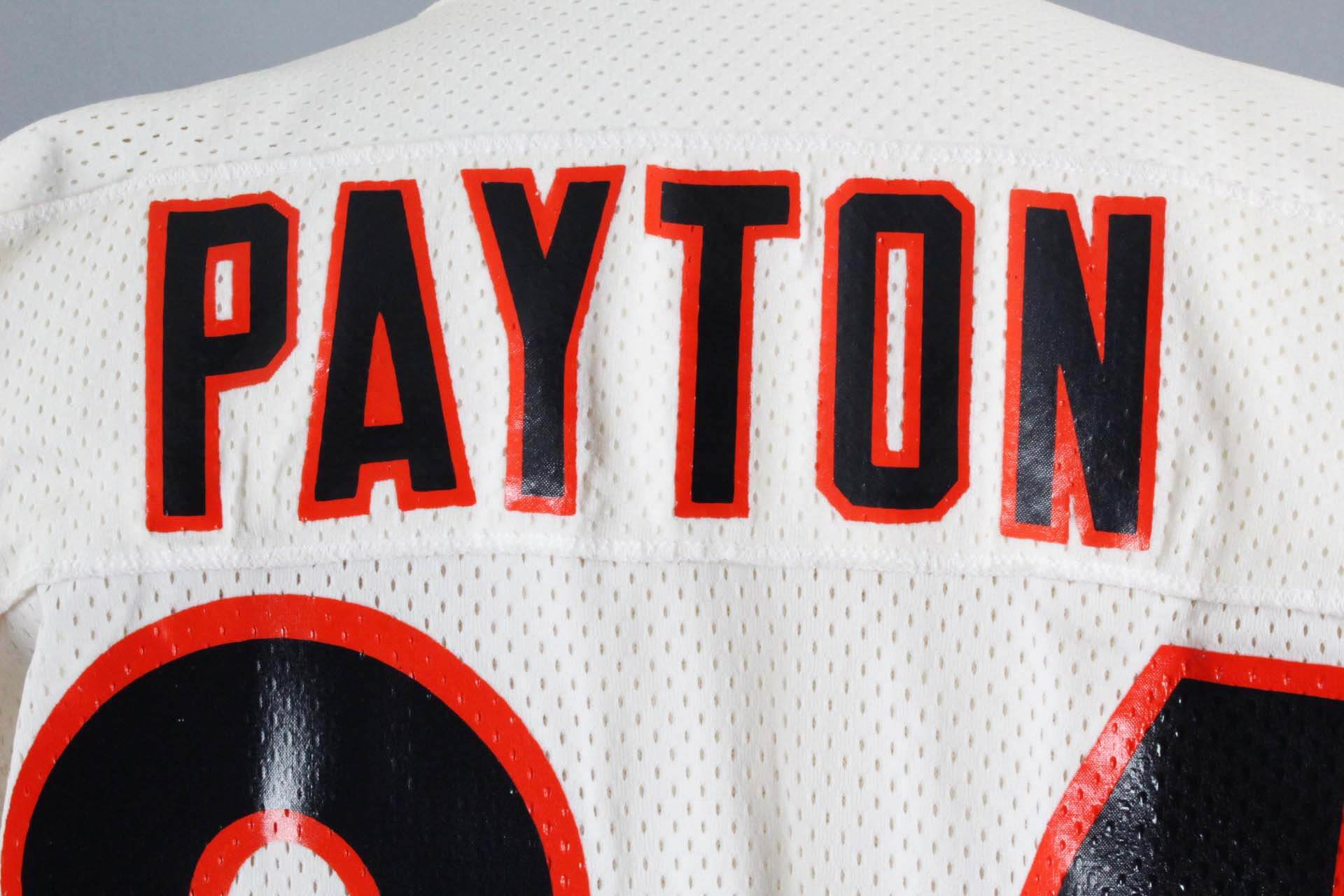 Mid 1980 s Walter Payton Game-Issued Chicago Bears Jersey – COA 100%  Team-Grade. c5f9ff54e