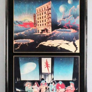 Grateful Dead Mars Hotel 1974 Large Advertising Slick Display Piece