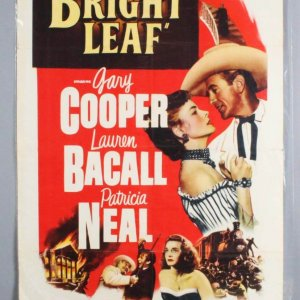 1950 Bright Leaf One Sheet Movie Poster -Lauren Bacall 50/379