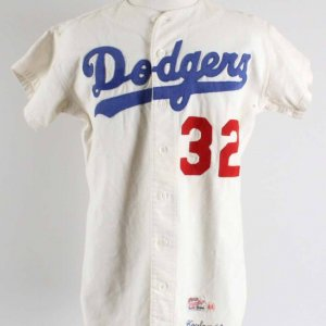 1961 Sandy Koufax Game-Worn Los Angeles Dodgers Jersey