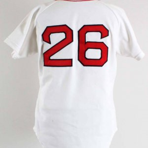 1986 Wade Boggs Game-Worn Boston Red Sox Jersey Grade: 10/20
