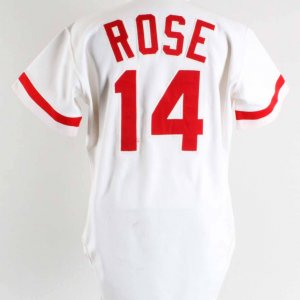 Pete Rose Game-Worn Cincinnati Reds Jersey