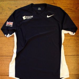 An Andy Murray Game-Used Team GB Davis Cup Shirt. 2015 Davis Cup (Winners).