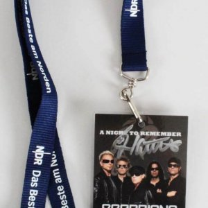 James Kottak Signed Scorpions Backstage Pass Concert All-Access Badge A Night to Remember