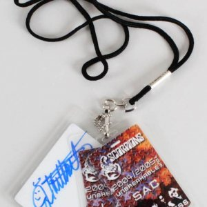 James Kottak Signed Scorpions Backstage Passes (3) 2004-05 Unbreakables Tour & House of Blues