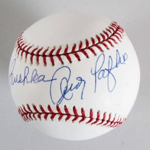 Andy Pafko Chicago Cubs Signed Baseball - COA JSA