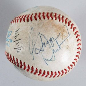 George Steinbrenner & Joe Torre Signed Baseball - JSA Full LOA