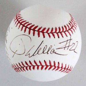 Manager Jimy Williams Boston Red Sox Signed Baseball - COA JSA
