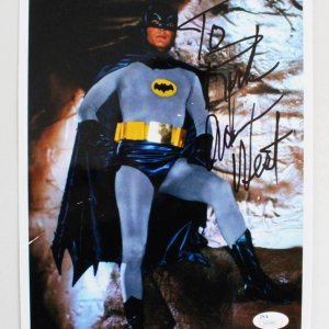 Adam West Signed 8x10 Batman Photo - COA JSA