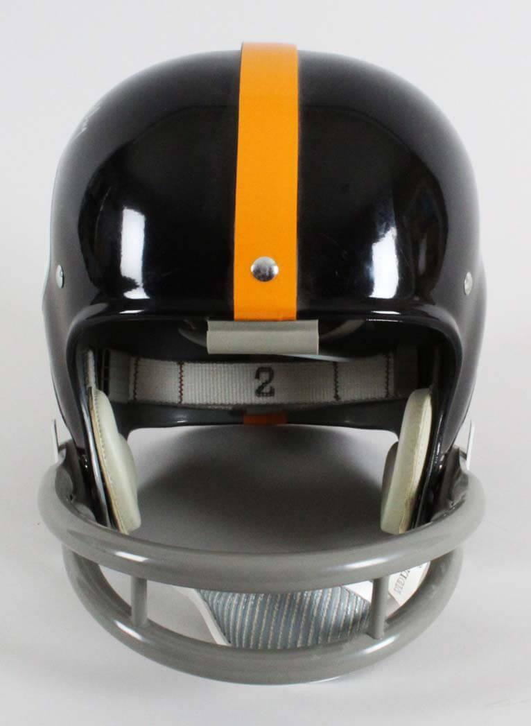 be7e96d51 Bullet Bill Dudley Signed Helmet Steelers – COA PSA DNA ...