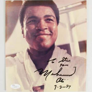Muhammad Ali Signed Photo - COA JSA