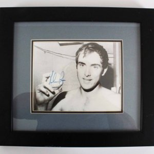 "Nolan Ryan Houston Astros Signed 15x17"" Photo Display - COA JSA"
