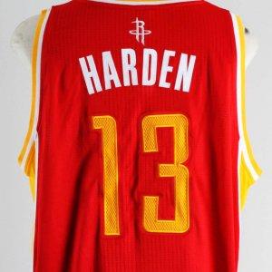 2009-10 James Harden Game Houston Rockets Jersey - COA 100% Team
