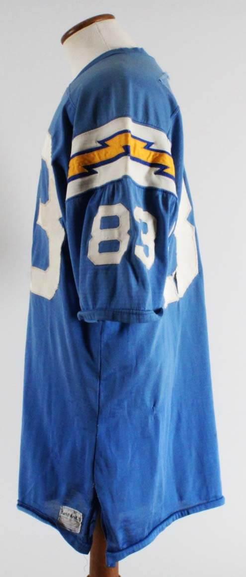 1970 Willie Frazier Game-Worn San Diego Chargers Jersey Grade 16 20- 100%  Team   Provenance  e1b075819