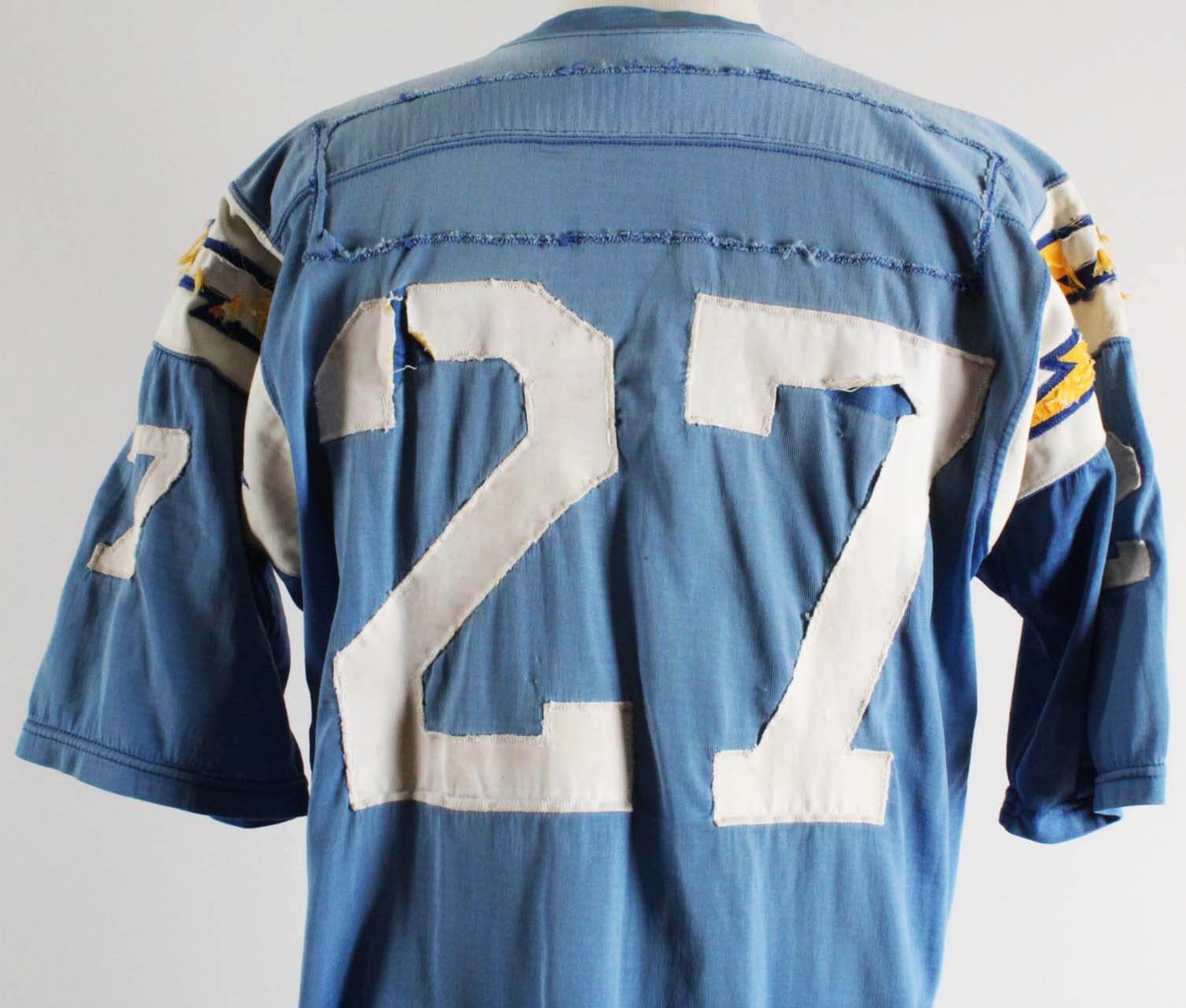1970 Gary Garrison Game-Worn San Diego Chargers Jersey – 100% Team 67e0a9a05