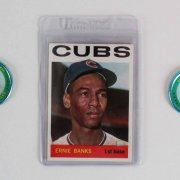 Chicago Cubs Vintage Baseball Card Lot (37) - Ernie Banks, Fergie Jenkins, etc.