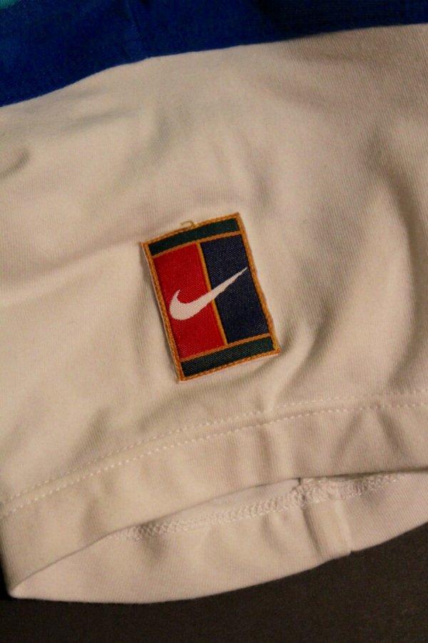 A Monica Seles Game Used Custom Nike Tennis Shirt. 1997 US Open.