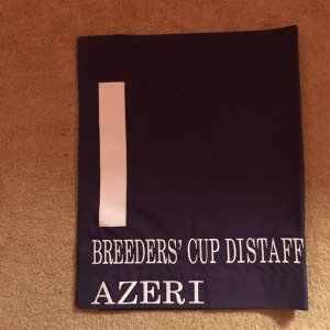 Azeri Breeders Cup Presentation Saddle Cloth
