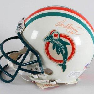 Dan Marino Signed Helmet Dolphins - COA JSA