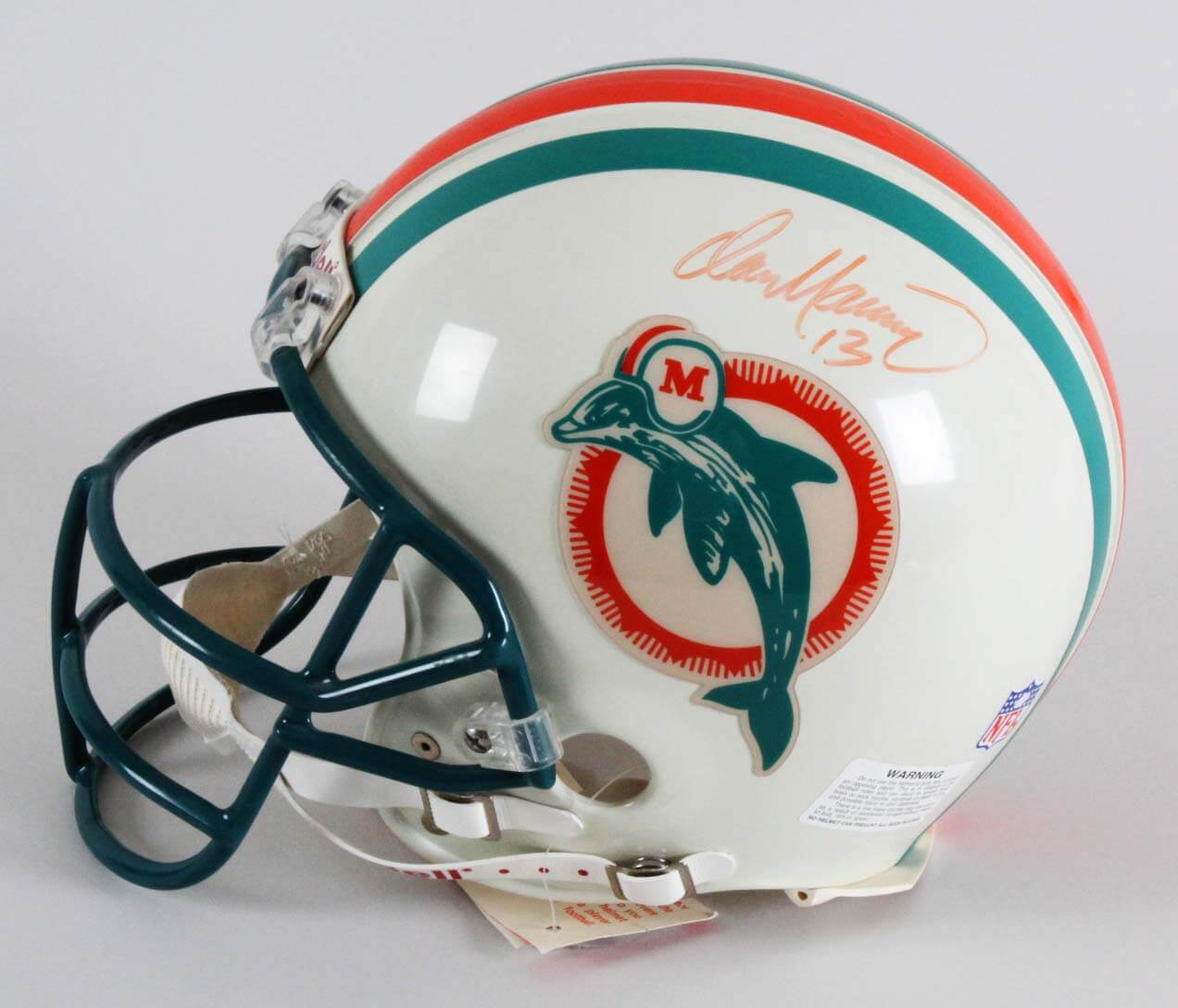 15dcf3f88 Dan Marino Signed Helmet