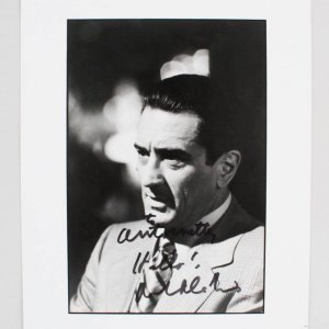 Robert De Niro Casino Signed & Inscribed B&W 8x10 Photo - JSA