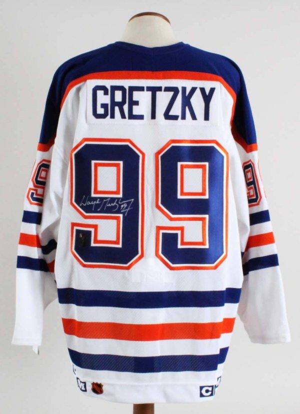 online retailer 73790 f4da5 Wayne Gretzky Signed Edmonton Oilers Jersey – WG Authentic ...