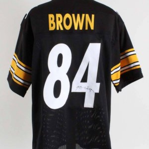 Antonio Brown Signed Pittsburgh Steelers Jersey - COA JSA