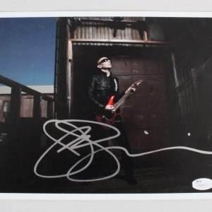 Joe Satriani Signed 8x10 Photo - COA JSA