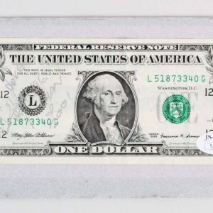 Jackie Chan Signed & Inscribed  One Dollar Bill - COA JSA