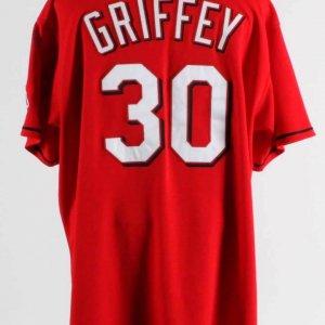 2005 Ken Griffey Jr Game Used Cincinnati Reds Jersey  COA 100% Authentic Team
