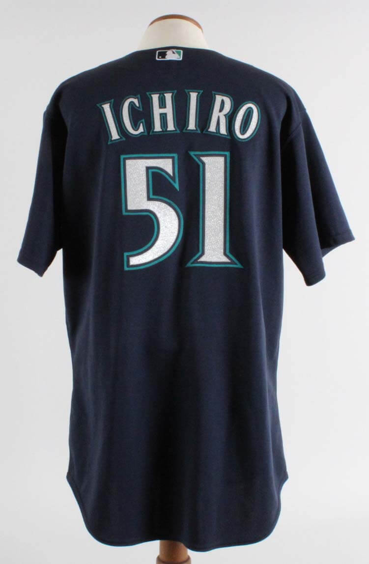 2009 Ichiro Suzuki Game Used Seattle Mariners Jersey COA 100% Authentic & Miedema LOA