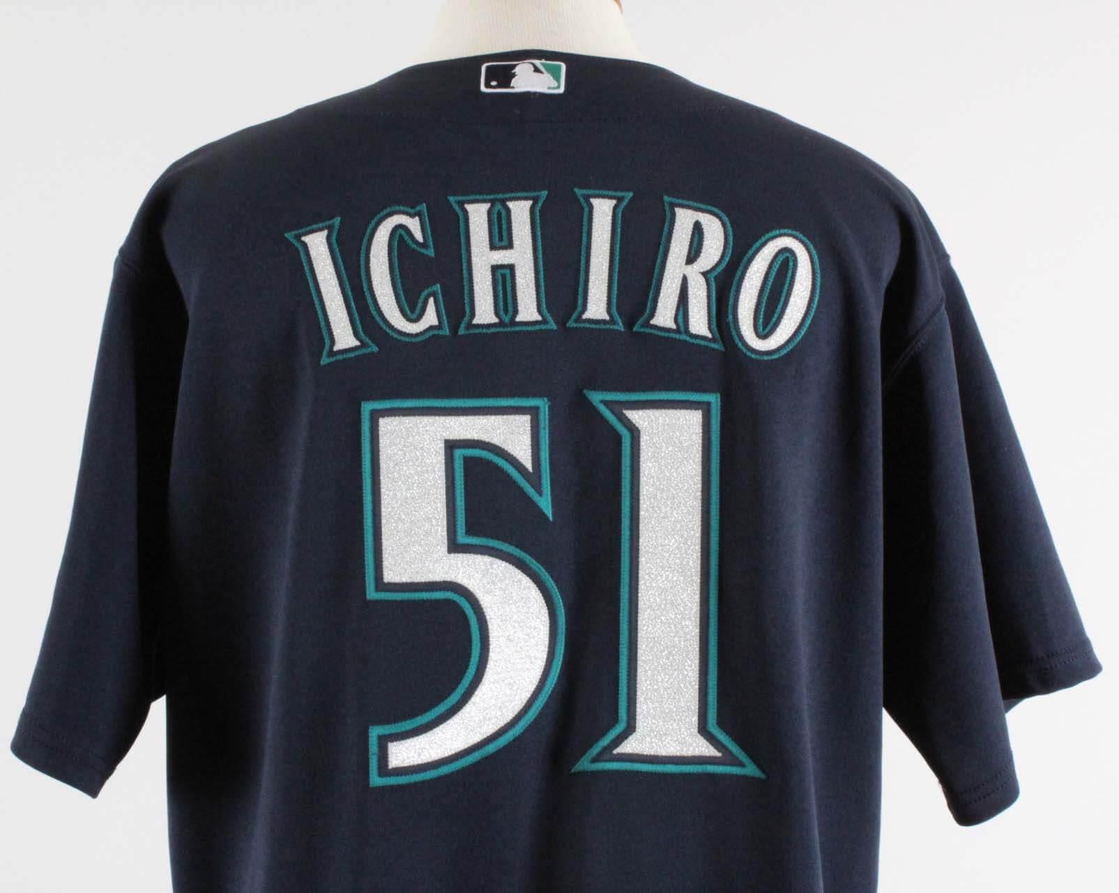 2009 Ichiro Suzuki Game Used Seattle Mariners Jersey COA 100% Authentic    Miedema LOA c2cfe2c09
