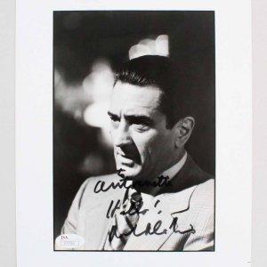 Robert De Niro Signed Photo - COA JSA