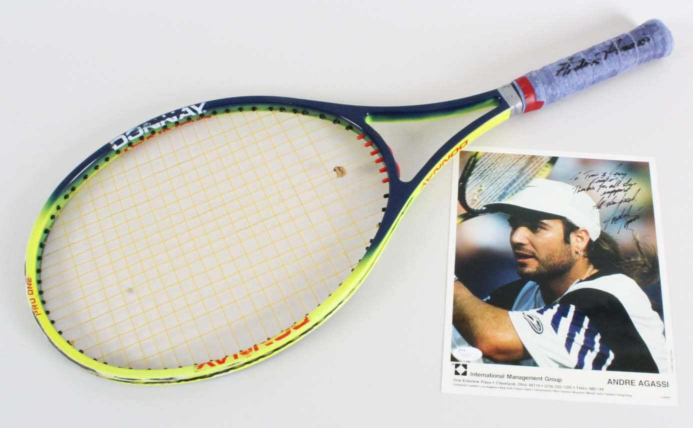 6a9793651cda0b Andre Agassi Game-Used