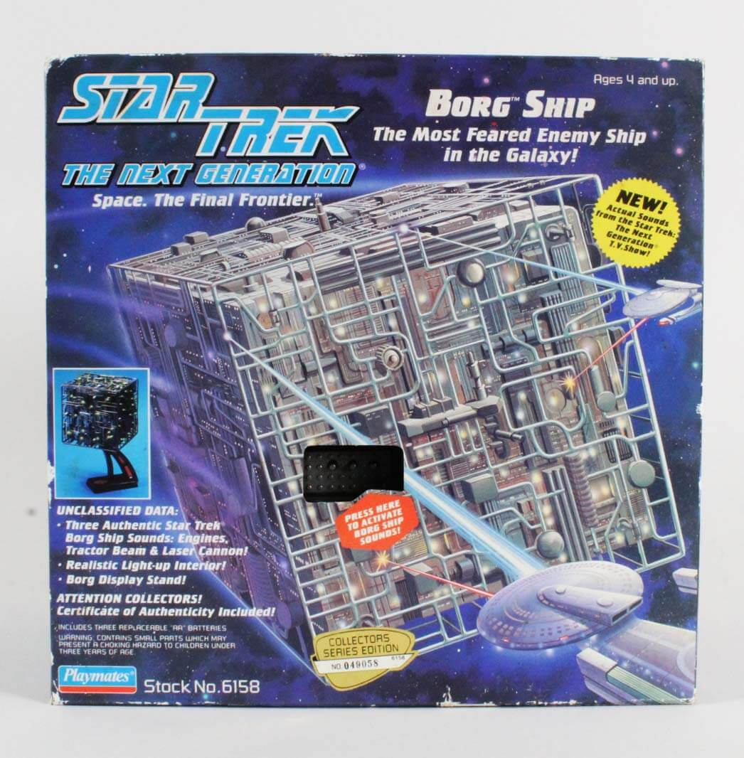 Star Trek The Next Generation TNG Borg Cube Ship Playmates (Factory Sealed)
