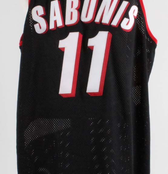 1997-98 Arvydas Sabonis Game-Worn Portland Trail Blazers Jersey - COA 100% Team GRADE 12/20