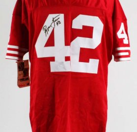 Ronnie Lott Signed San Francisco 49ers Authentic Pro Line Wilson Jersey - COA JSA