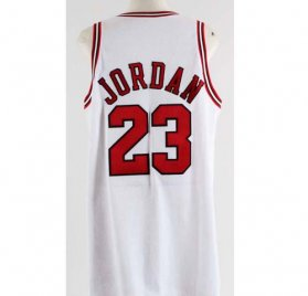 1997-98 Michael Jordan Game Used Chicago Bulls Home Jersey-Final Season COA 100% Authentic Grade 10/20