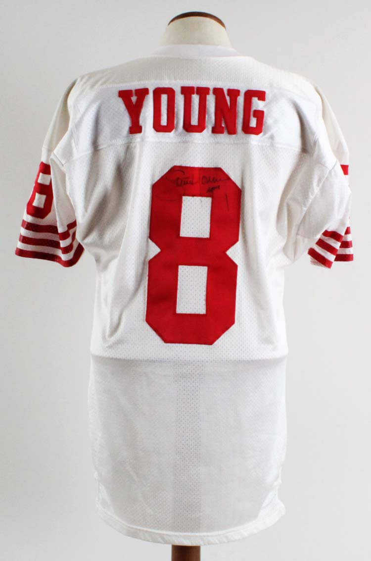 93464f31f26 Steve Young Game-Worn