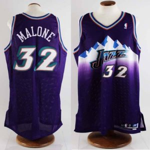 2002-03 Karl Malone Game-Worn Utah Jazz Jersey